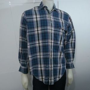Brooks Brothers Madras Plaid Button Down Shirt